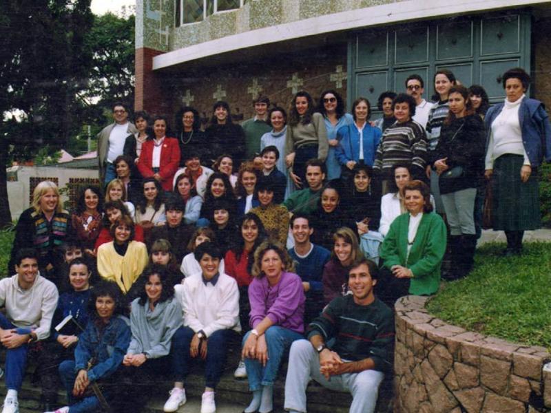 Seminário de Professores em 1992.