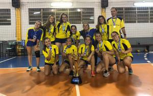 2019-12-10 - Equipe Handebol Campeã