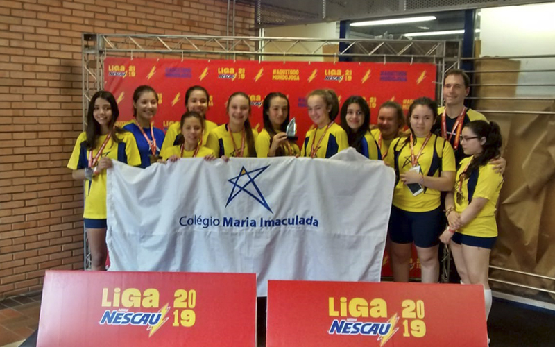 2019_10_07 - Liga Nescau 2019_0001_Handebol MIRIM fem. 2° Lugar