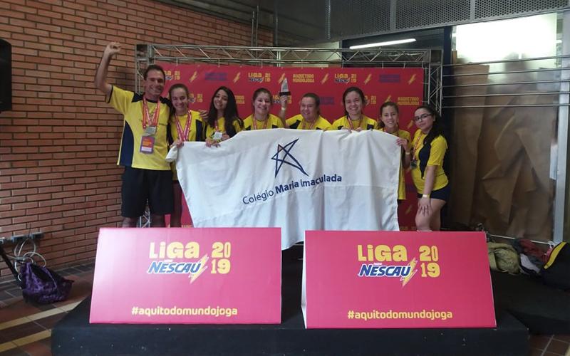 2019_10_07 - Liga Nescau 2019_0005_Basquete MIRIM fem. 2° Lugar