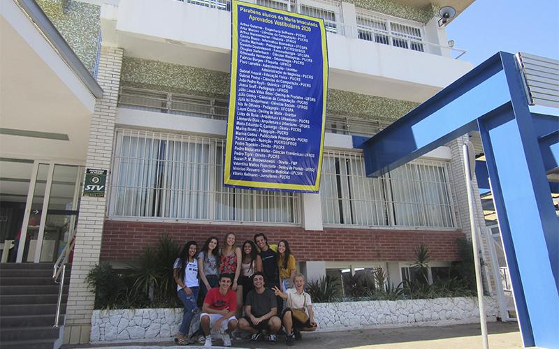 2020.03.02 - Visita ex-estudantes vestibular